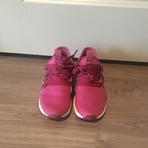 Adidas pre-owned edge lux sneakers.